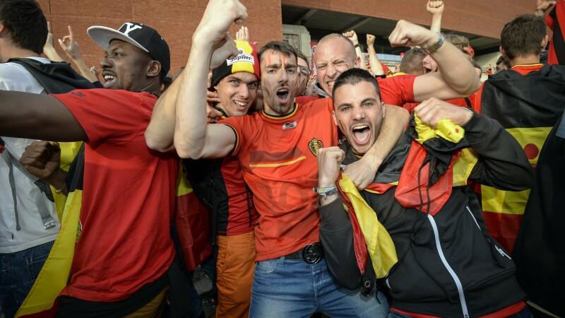 suporteri, Belgia