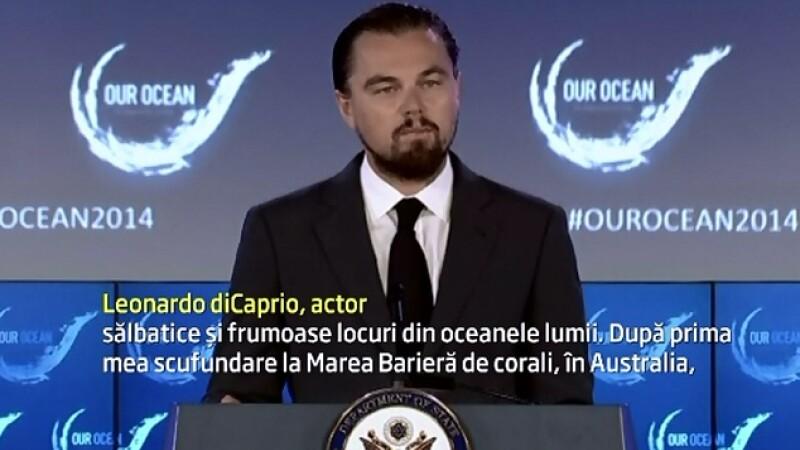 Leonardo DiCaprio doneaza 7 milioane de dolari pentru protejarea oceanelor: \