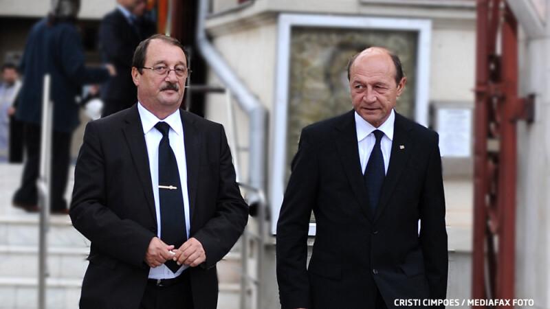 Traian si Mircea Basescu