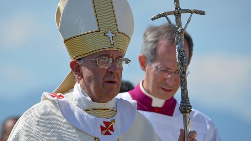 Papa Francisc, despre masacrul de la Paris: