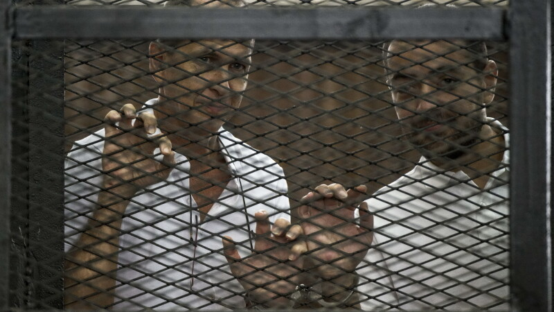 Jurnalisti detinuti in Egipt