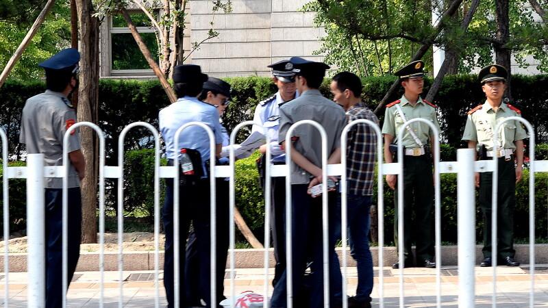 Politisti chinezi