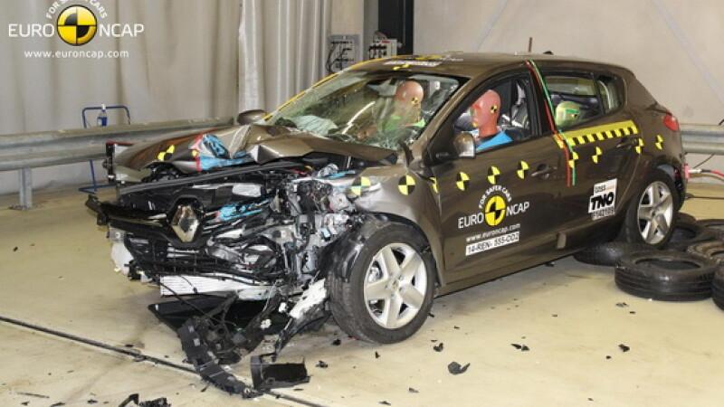 renault crash test