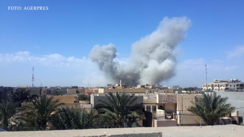 explozie in Irak la Fallujah