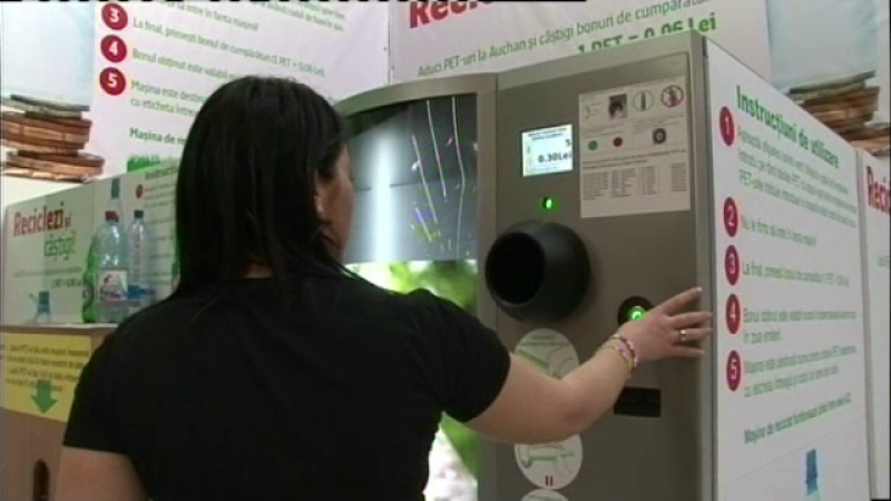 reciclare PET-uri
