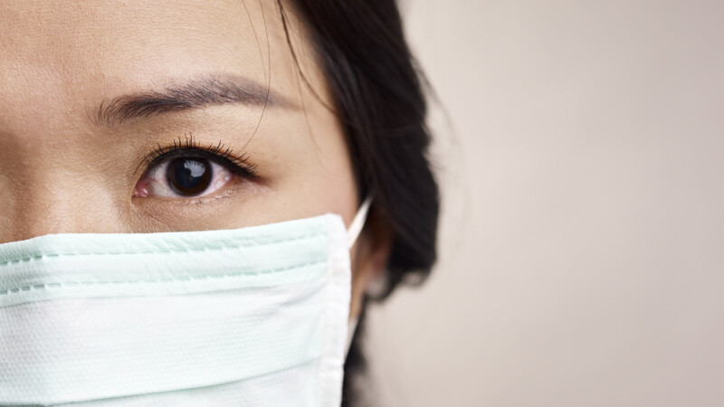 Coreea de Sud, masca