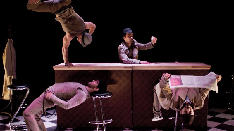 Dans acrobatic la Festivalul International de dans contemporan STEPS