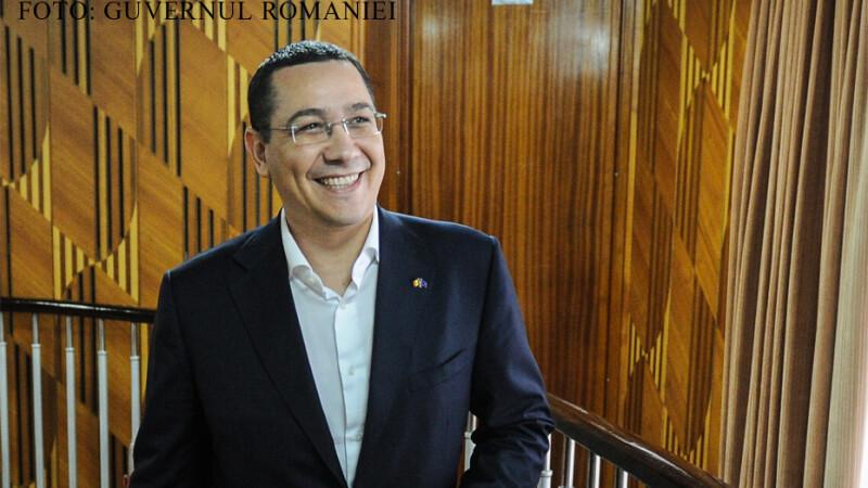 Victor Ponta vesel FOTO GUVERNUL ROMANIEI