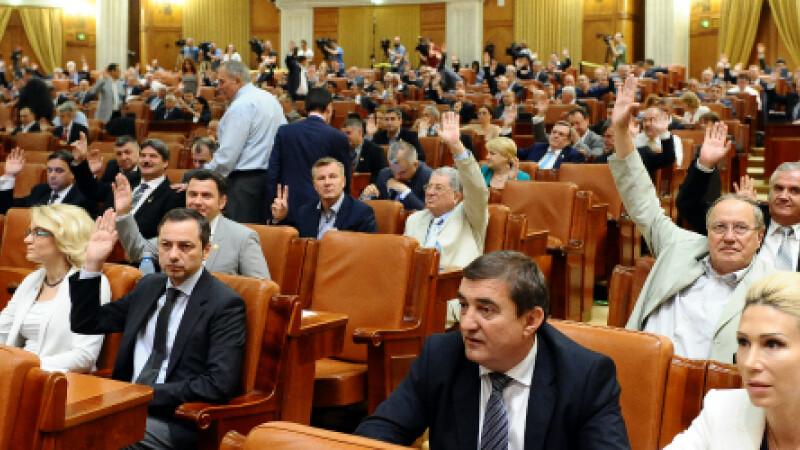 Parlament, vot, cover - Agerpres