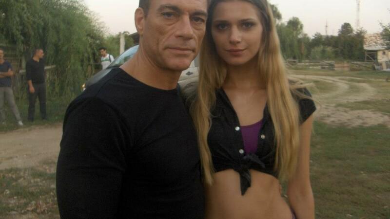 Lia Sinchevici si Jean-Claude Van Damme - Facebook