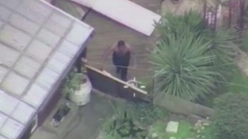 Teroare intr-o suburbie a Londrei. Un barbat a decapitat o batrana cu o maceta, apoi a trecut dintr-o curte in alta. VIDEO