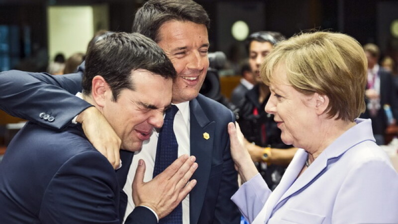 Merkel, Tsipras