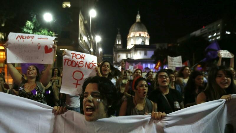 protest Brazilia - Agerpres