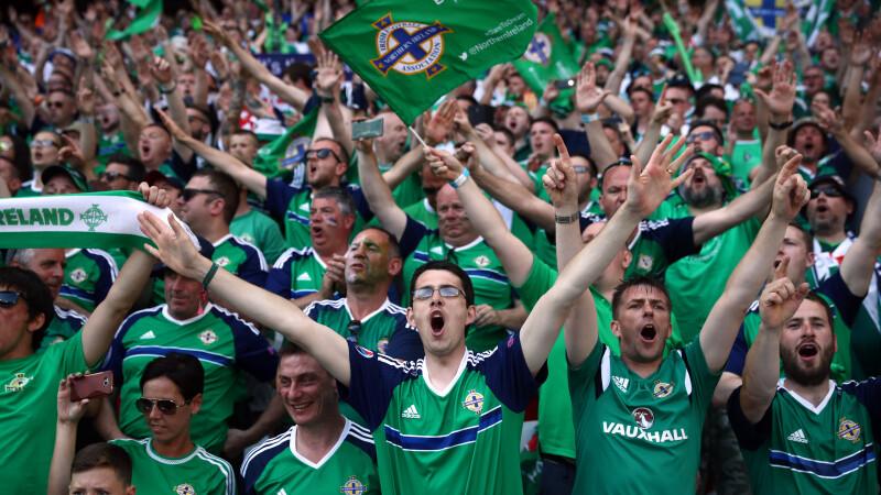 suporteri Irlanda de Nord EURO 2016 - Agerpres