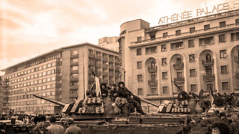 imagine revolutia din decembrie 1989 - foto Romeo Diaconescu