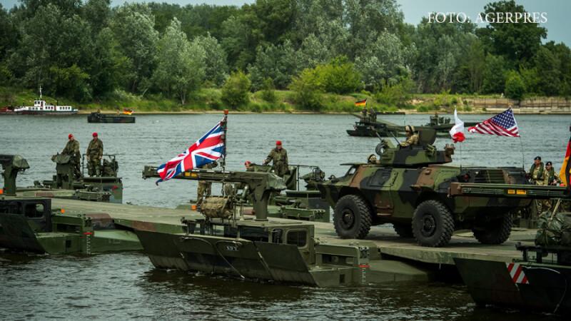 Romania va fi aparata de o brigada multinationala NATO. Reactia Kremlinului: \