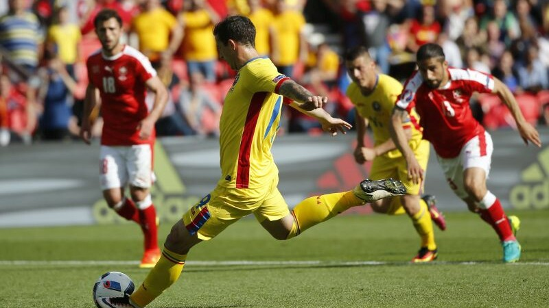 Romania - Elvetia, gol Bogdan Stancu