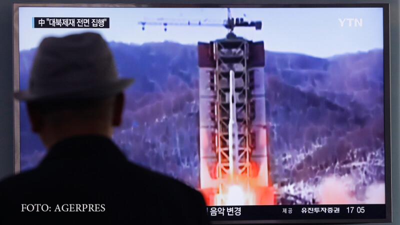 test racheta nord-coreeana