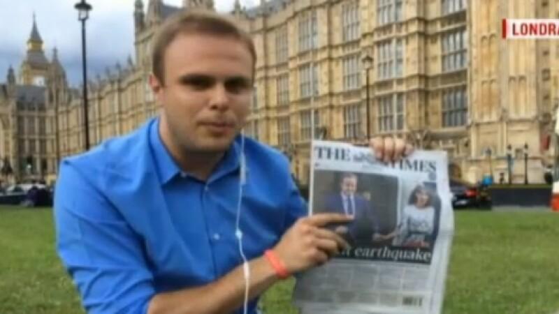 Paul Angelescu, corespondentul Stirilor ProTV la Londra: Romania trebuie sa apere interesele romanilor care lucreaza in UK