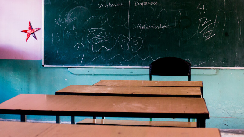 sala de clasa India- Shutterstock