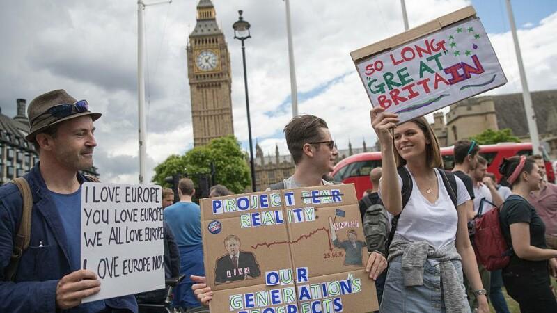 proteste Brexit