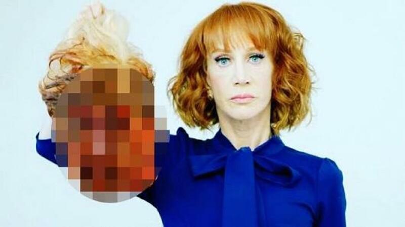 Donald Trump, Kathy Griffin, cap, cnn