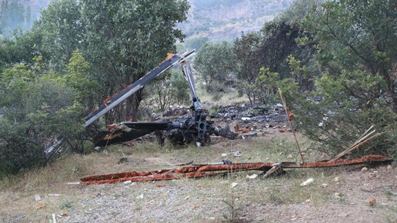 accident de elicopter Turcia