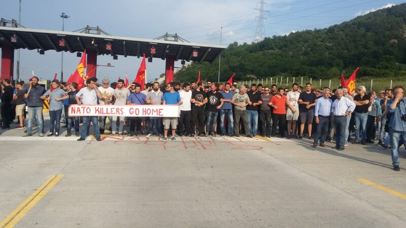 protest kozani