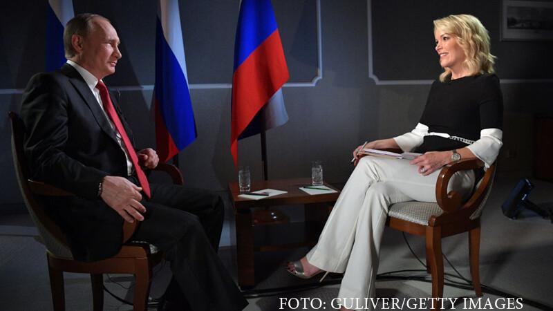 Vladimir Putin si Megyn Kelly