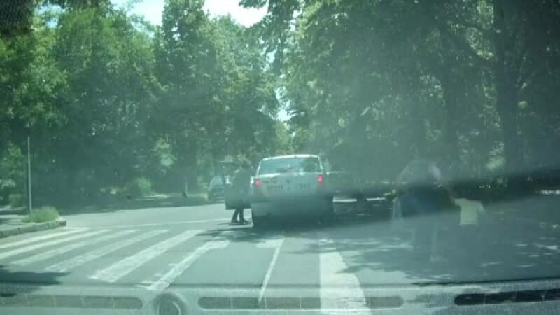 accident masina Galati