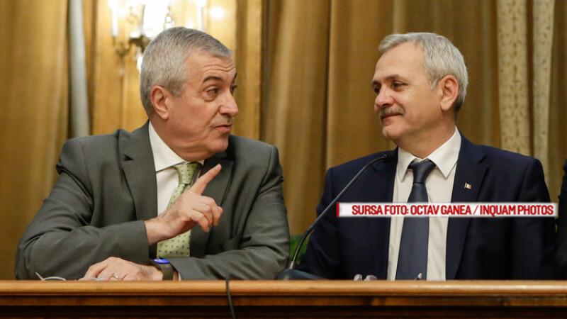 Ședință de coaliție în biroul lui Dragnea. Posibilă discuție despre suspendarea lui Iohannis