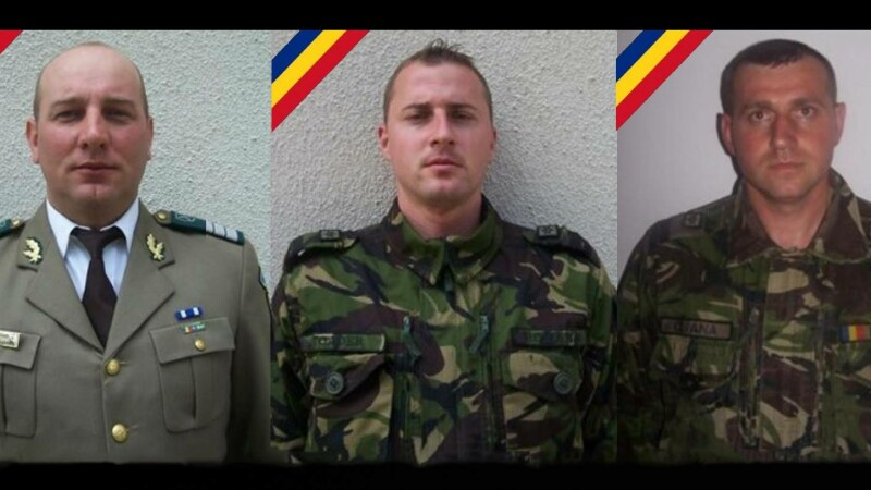 trei militari morti