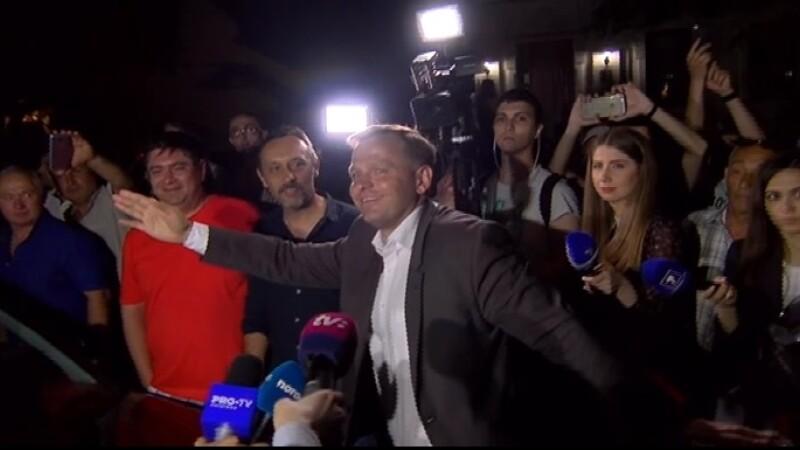 Andrei Nastase, victorie in alegerile din Chisinau