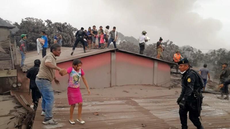 eruptie vulcan guatemala