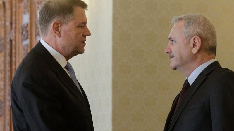 Dragnea: Nu este exclus să declanșăm procedura de suspendare a lui Klaus Iohannis