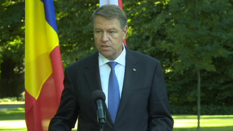 Mesajul președintelui Klaus Iohannis de Ziua Drapelului Național