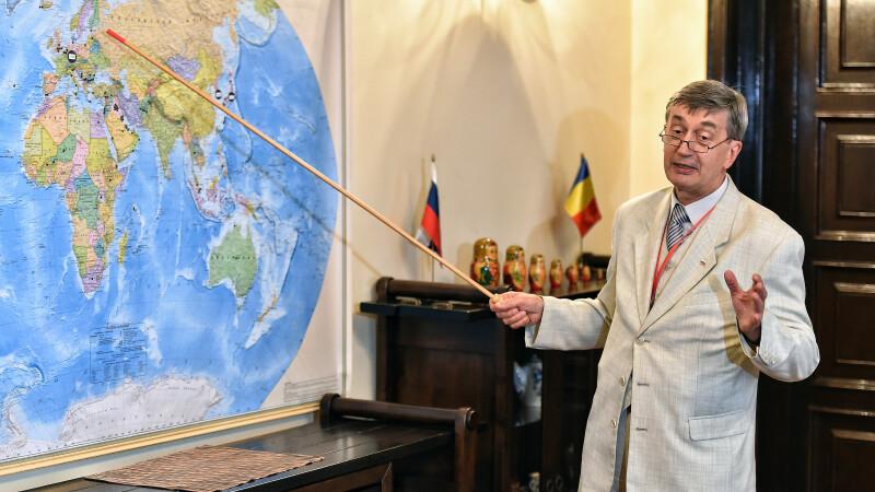 Conferinta de presa dedicata Zilei Nationale a Rusiei sustinuta de ambasadorul Federatiei Ruse, Valery Kuzmin