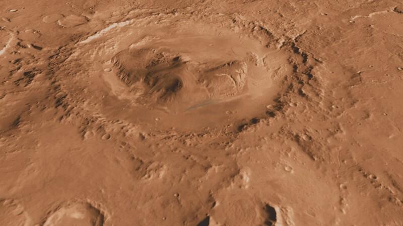 craterul gale