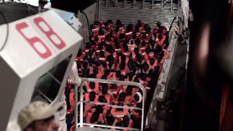 Spania va primi ambarcațiunea cu cei 629 de migranți, refuzați de autoritățile italiene