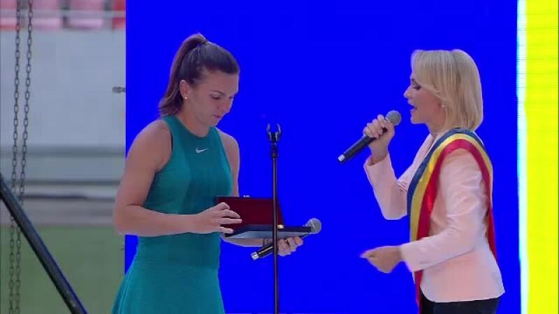 Gabriela Firea, Simona Halep