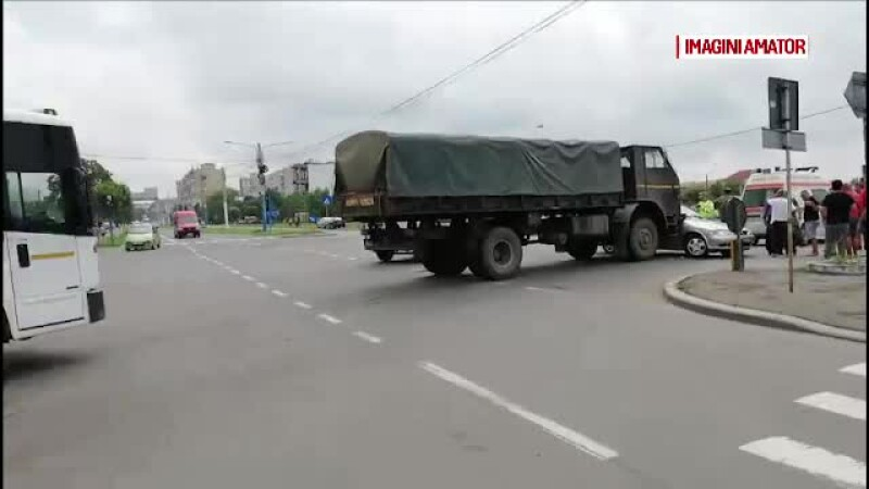 accident camion armata