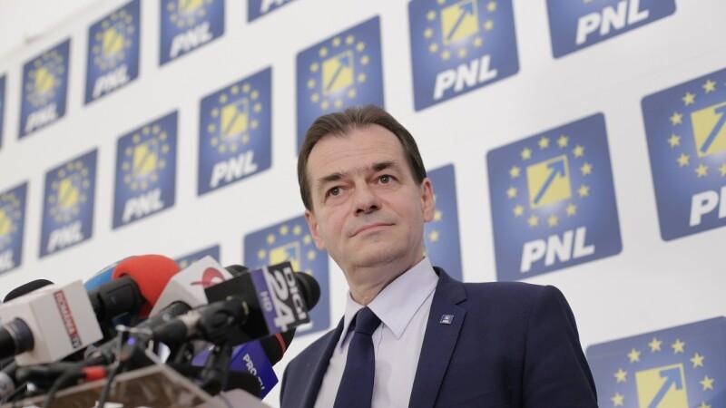 Ludovic Orban, președintele Partidului Național Liberal
