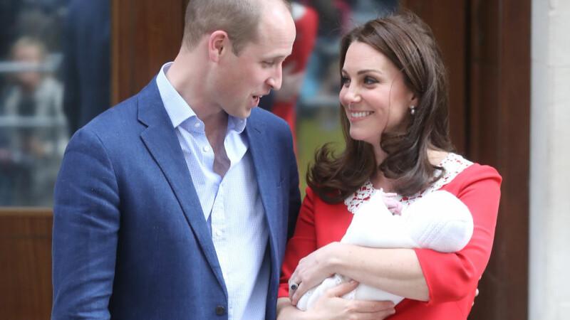 Când va avea loc botezul prințului Louis, cel de-al treilea copil al prințului William