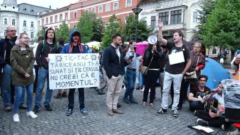 proteste Cluj