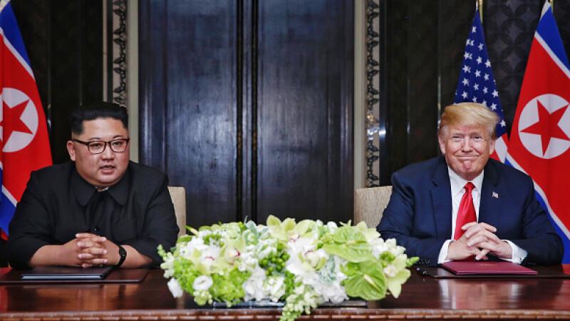"""Trump asigură că discuţiile cu Coreea de Nord în vederea denuclearizării """"decurg bine"""""""