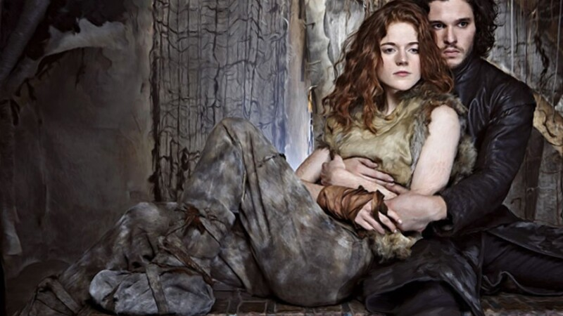 "Kit Harington şi Rose Leslie - Jon Snow şi Ygritte din ""Game of Thrones"" - s-au căsătorit"