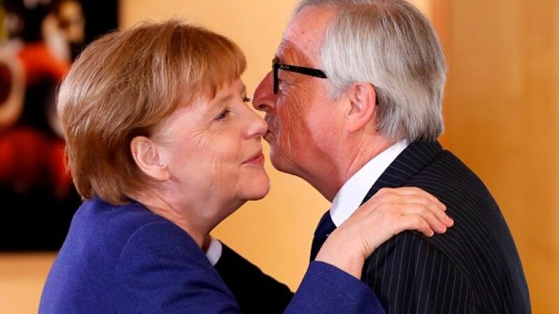 Angela Merkel - Jean-Claude Juncker