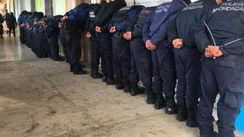 politisti, mexic, ocampo, Omar Gómez, arestati