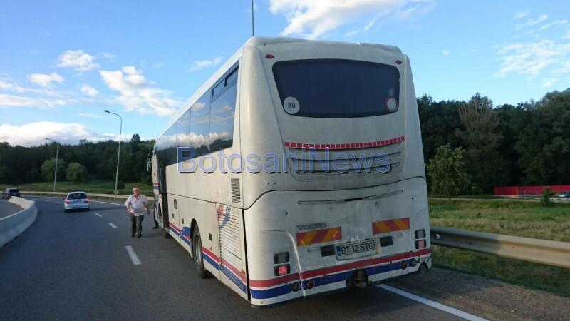 Femeie căzută dintr-un autocar, în timpul mersului, la Botoșani. Cum a fost posibil