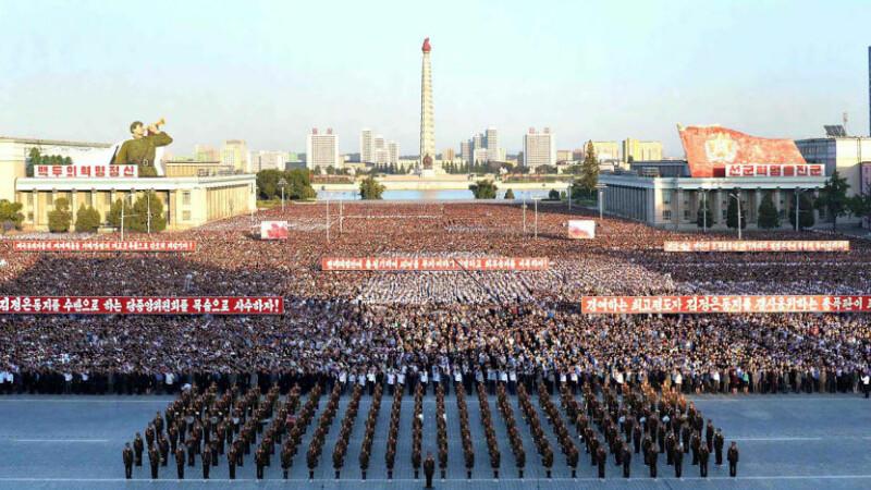 Coreea de Nord renunță la mitingul anual împotriva imperialismului american. În trecut, cereau distrugerea completă a SUA